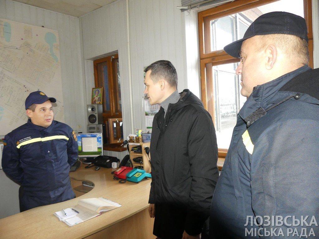 Глава ХОГА Алексей Кучер посетил Лозовую с инспекцией пожарной безопасности, фото-5