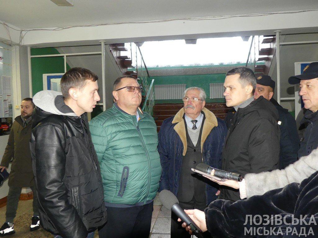 Глава ХОГА Алексей Кучер посетил Лозовую с инспекцией пожарной безопасности, фото-9