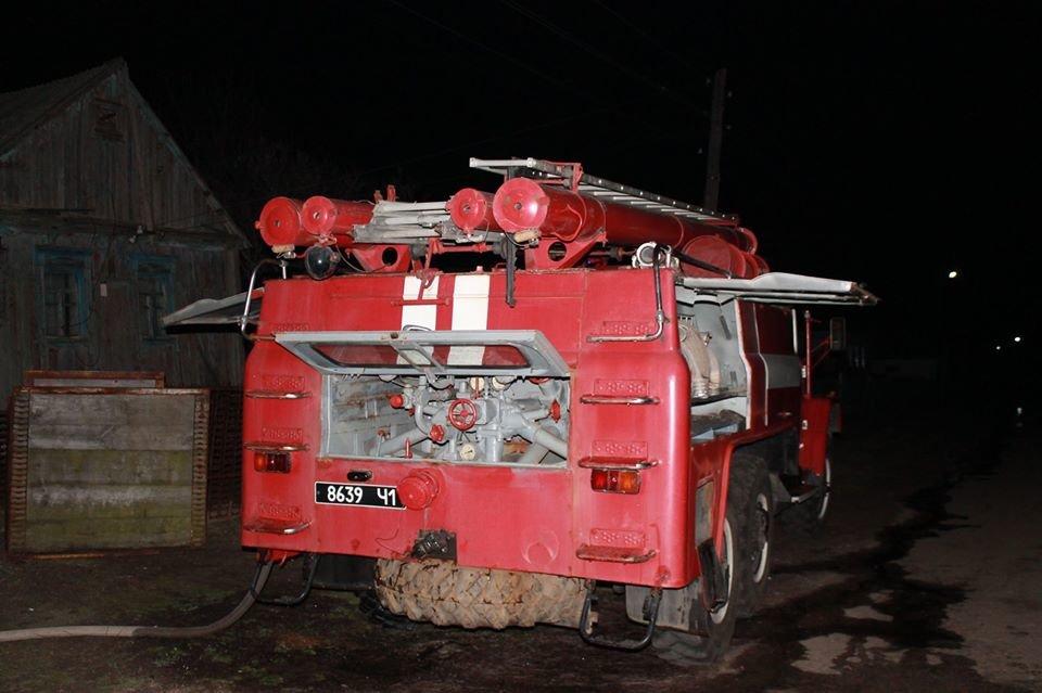 В селе Светловщина на Лозовщине горел дом, фото-1