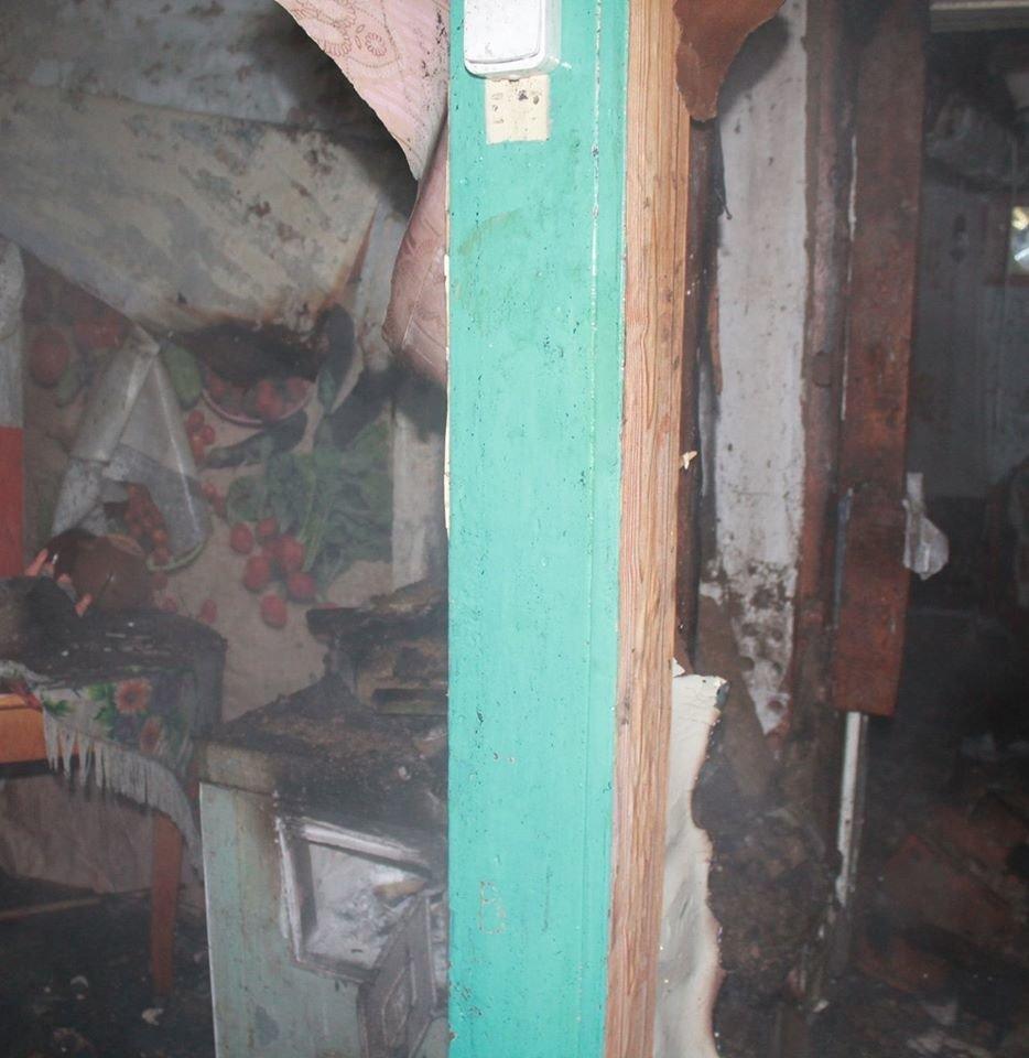 В селе Светловщина на Лозовщине горел дом, фото-3