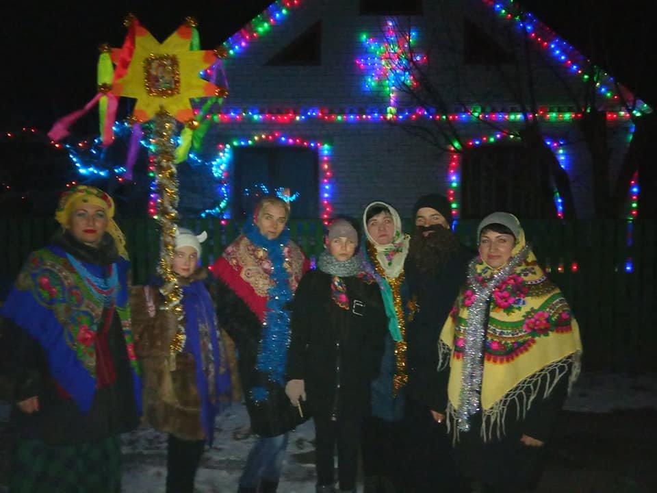 На Лозовщине колядовали и поздравляли с Рождеством (Фото, видео), фото-3