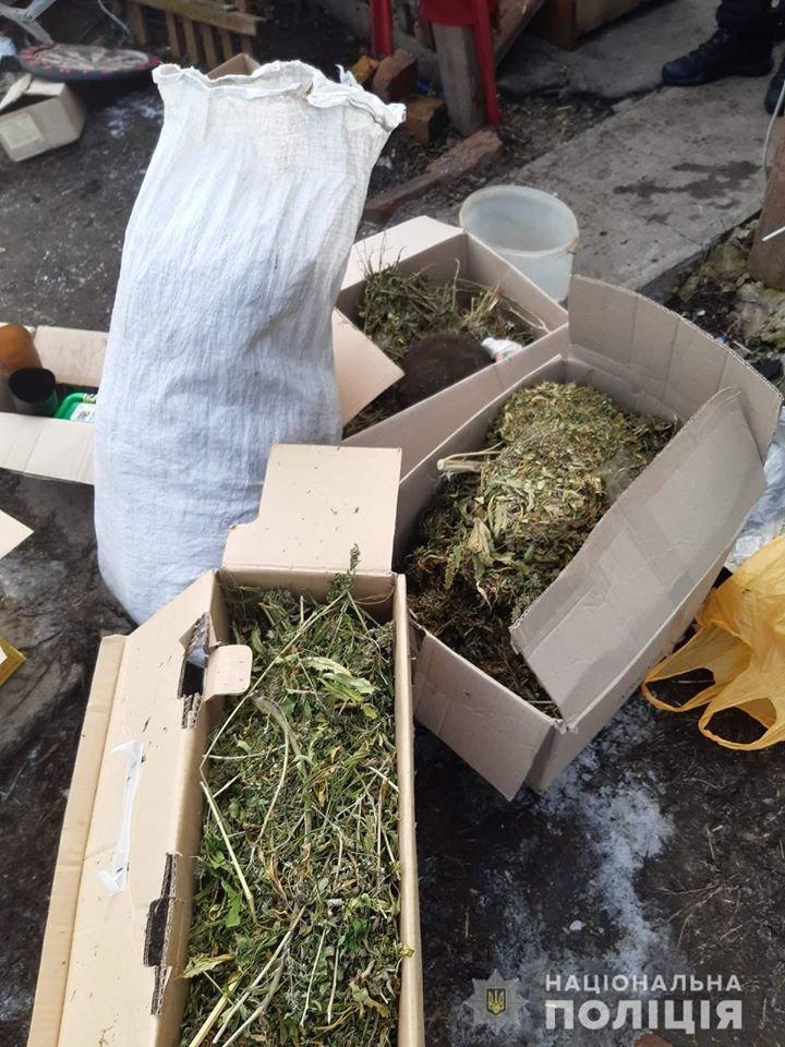 """""""Накрыли"""" с пятью килограммами конопли: у жителя Лозовщины нашли наркорастения, фото-1"""