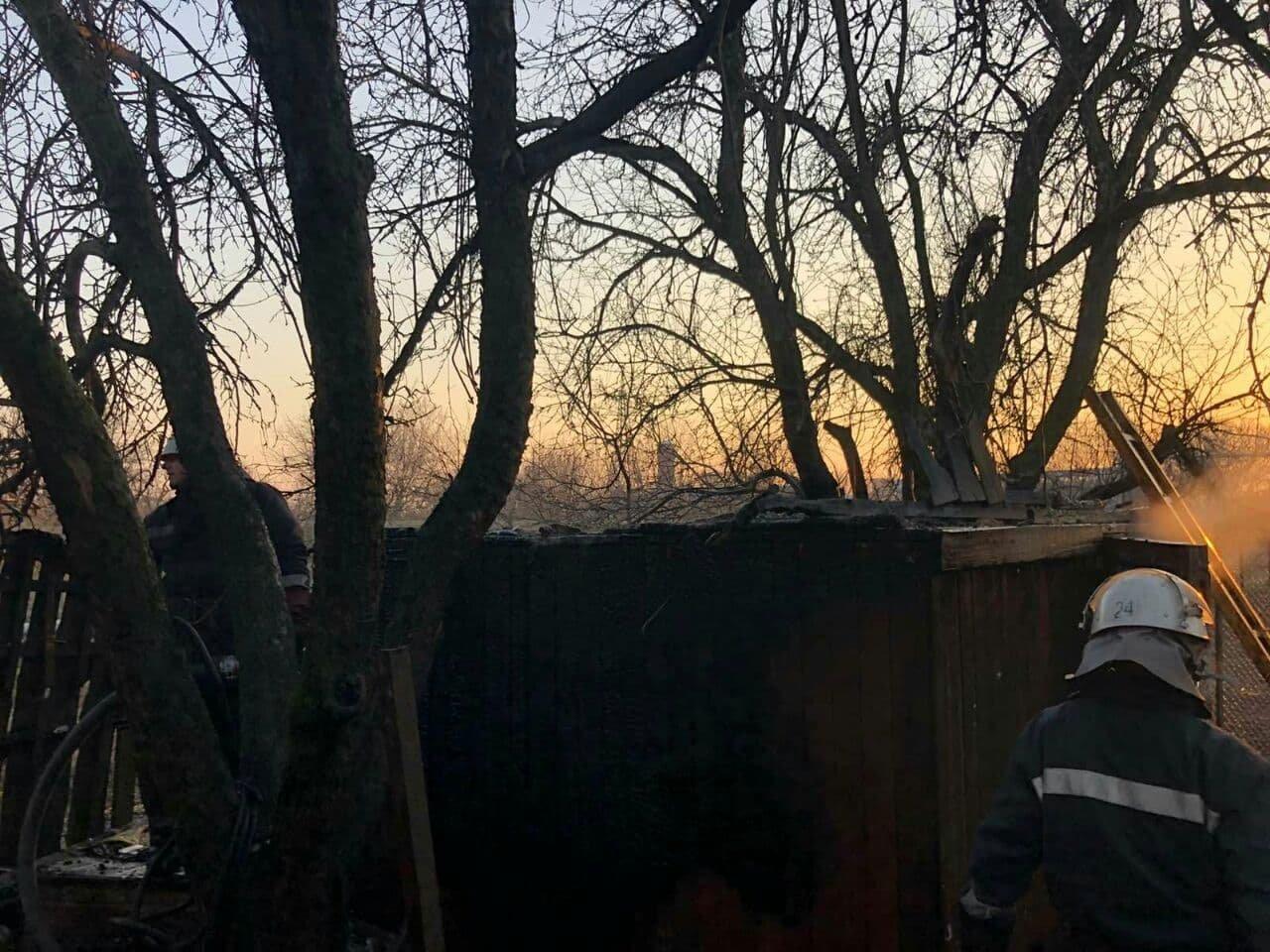 В Панютино загорелась деревянная хозпостройка, фото-3