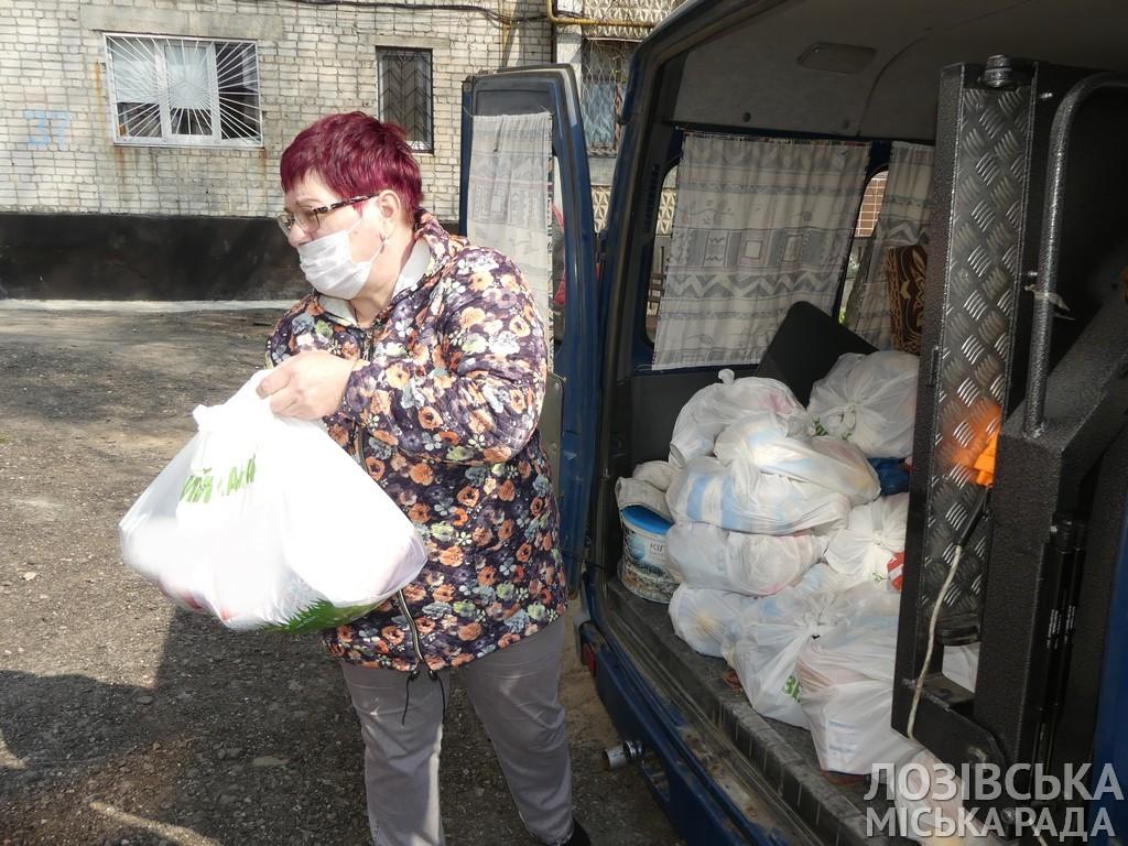 Пожилые одинокие жители Лозовской ОТГ получат продуктовые наборы , фото-1
