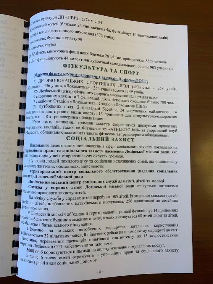 К годовщине Лозовской ОТГ  в мэрии презентуют визитку громады, фото-8