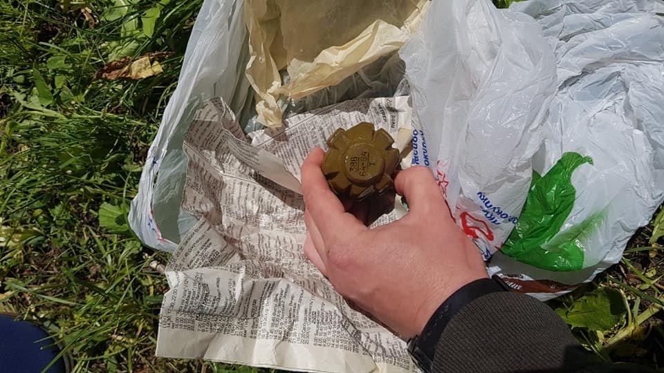 В Лозовой задержали продавца боевых гранат, фото-3