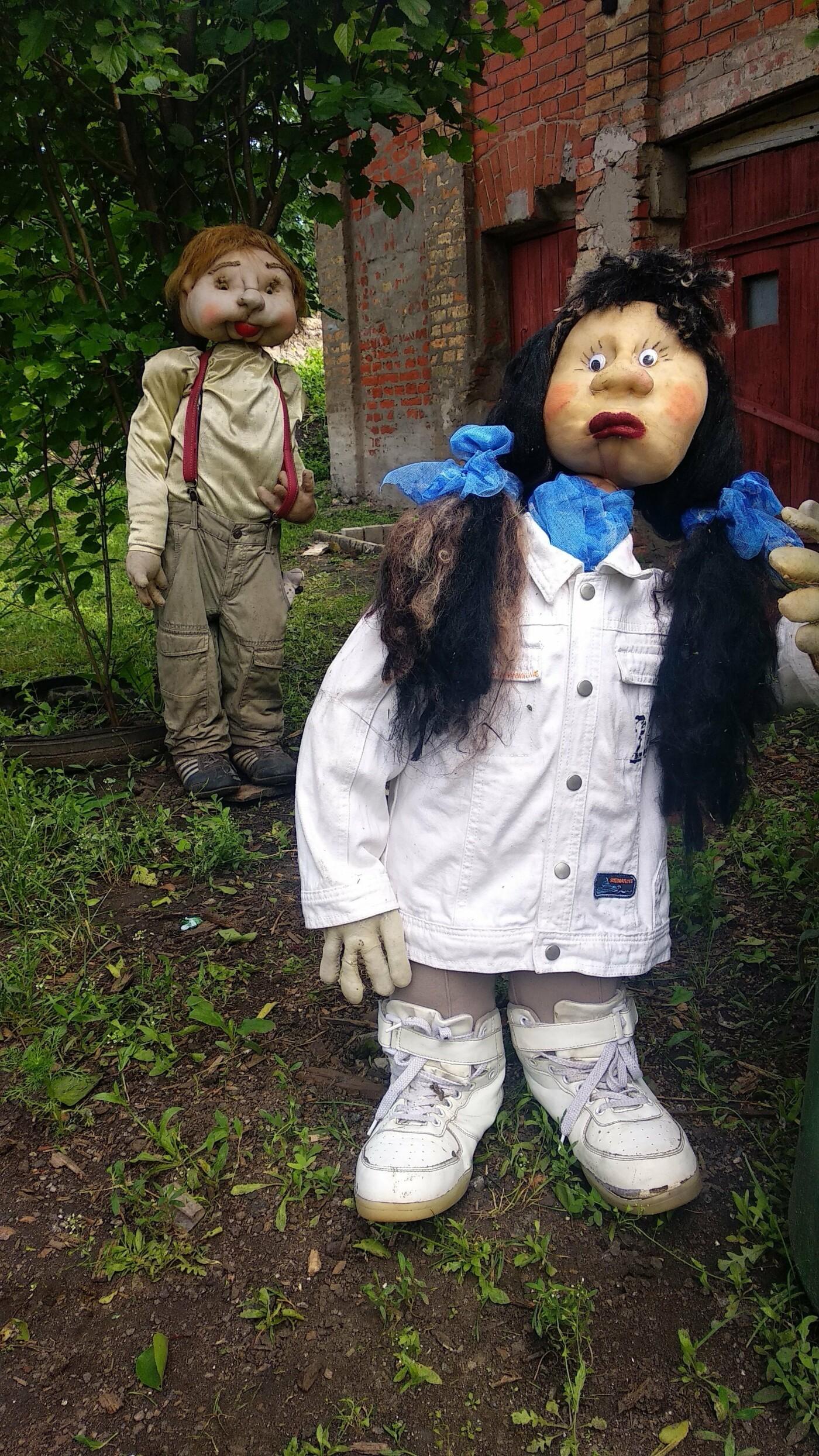Кукольный двор: лозовчанка оригинально украсила территорию возле дома , фото-35