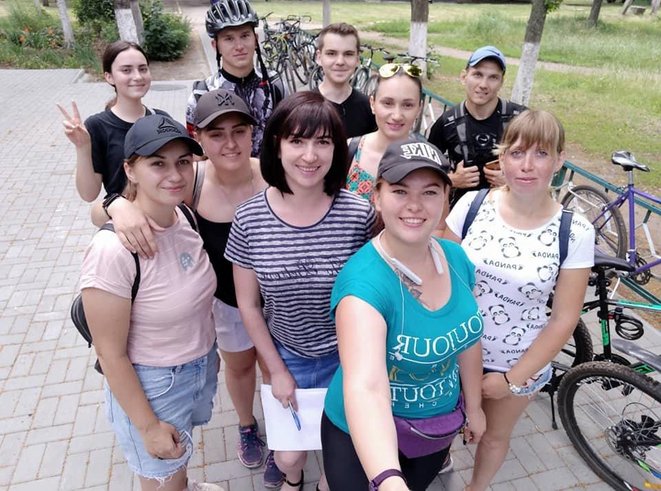 Искали зашифрованные места: в Лозовой прошел вело-фото-квест , фото-4