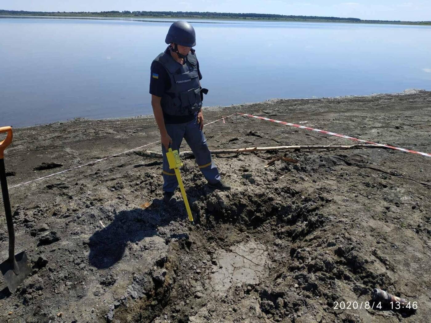 Дети нашли снаряд: на Лозовщине пиротехники  изъяли и обезвредили фугасную авиабомбу, фото-2