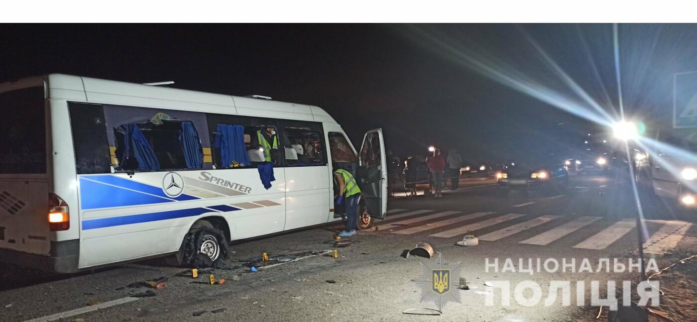 Расстрел автобуса возле Люботина: полиция задержала 14 человек, фото-3