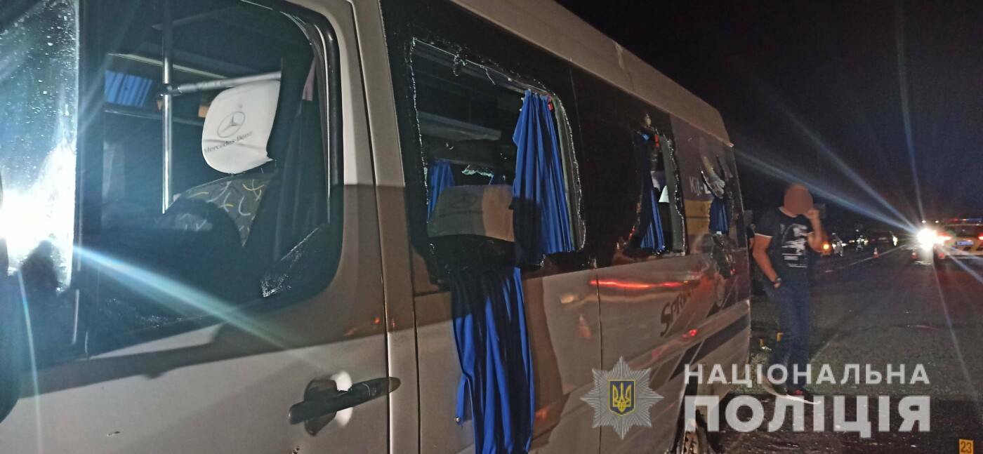 Расстрел автобуса возле Люботина: полиция задержала 14 человек, фото-8