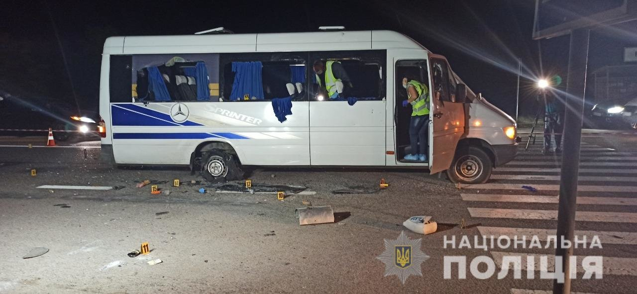 Расстрел автобуса возле Люботина: полиция задержала 14 человек, фото-10