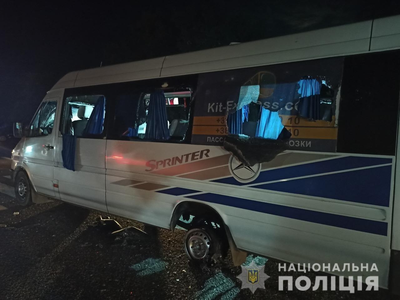 Расстрел автобуса возле Люботина: полиция задержала 14 человек, фото-9