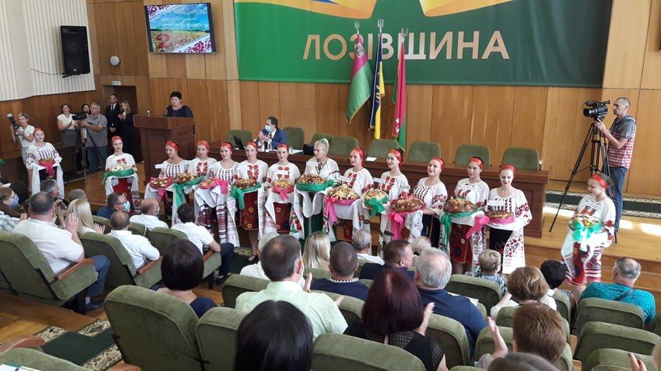 Лозовская громада отмечает 2-летие со дня создания, фото-5