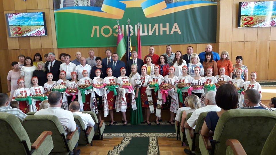 Лозовская громада отмечает 2-летие со дня создания, фото-1