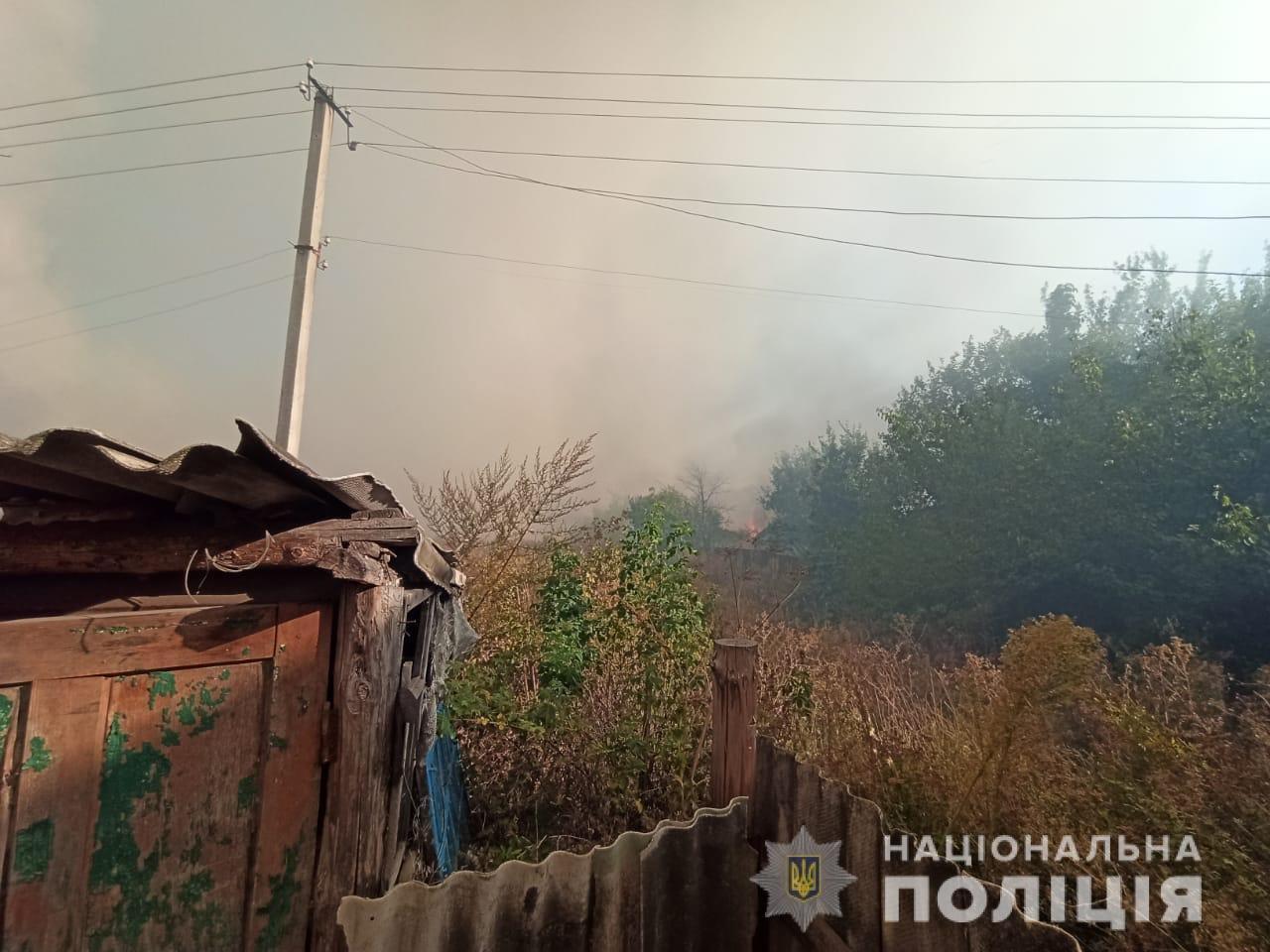 На Харьковщине тракторист спас 20 жилых домов от огня, фото-13