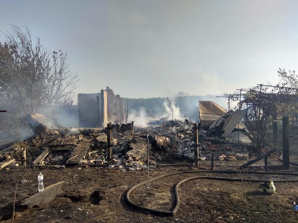 На Харьковщине тракторист спас 20 жилых домов от огня, фото-5
