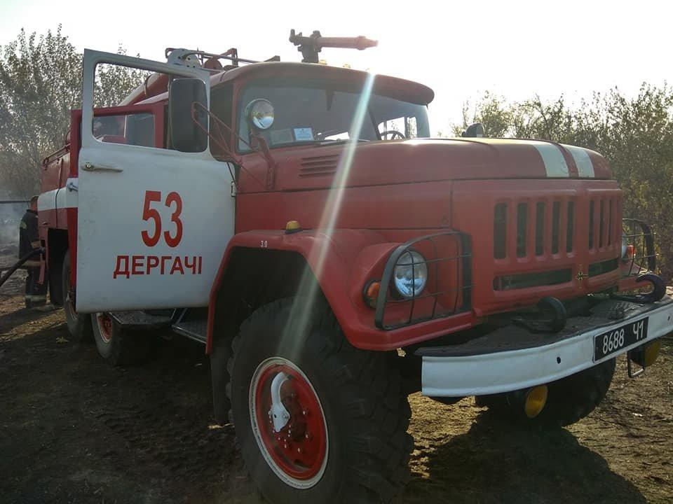 На Харьковщине тракторист спас 20 жилых домов от огня, фото-9