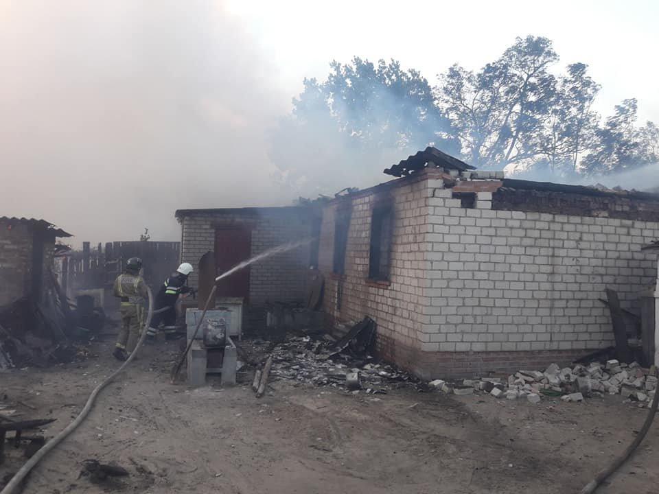На Харьковщине тракторист спас 20 жилых домов от огня, фото-4