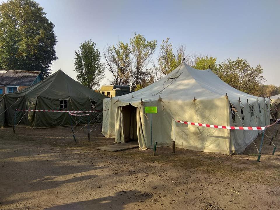 На Харьковщине тракторист спас 20 жилых домов от огня, фото-8