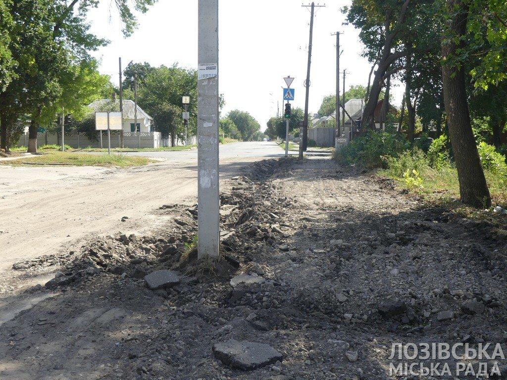 Ремонты дорог и тротуаров: когда дорожники завершат работы на лозовских улицах, фото-2
