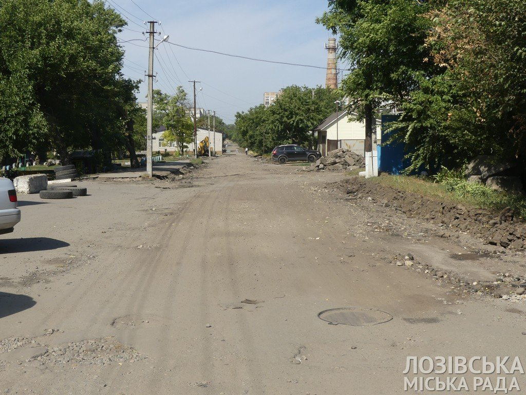 Ремонты дорог и тротуаров: когда дорожники завершат работы на лозовских улицах, фото-1