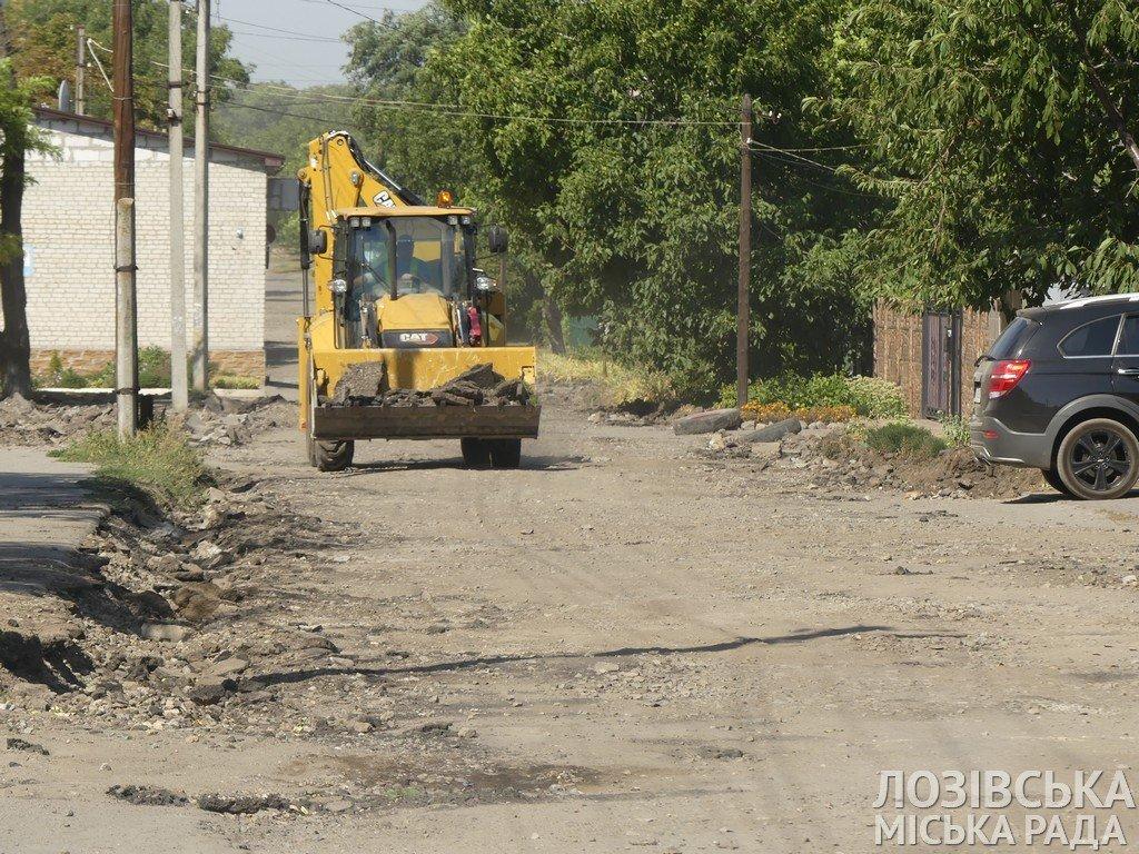 Ремонты дорог и тротуаров: когда дорожники завершат работы на лозовских улицах, фото-3