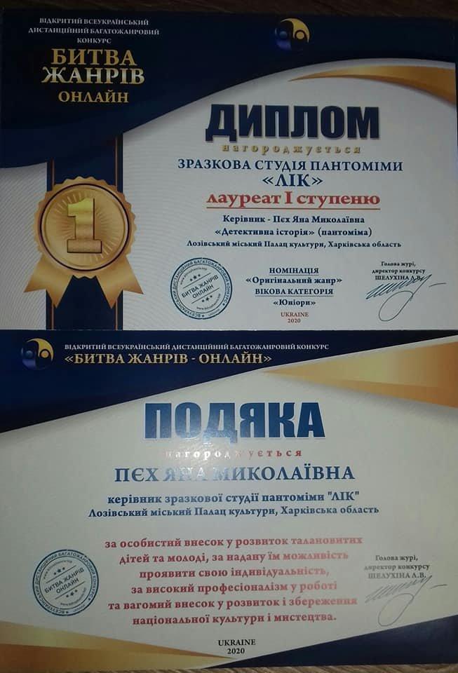 Онлайн-победы: лозовские творческие коллективы получили награды всеукраинского конкурса, фото-7