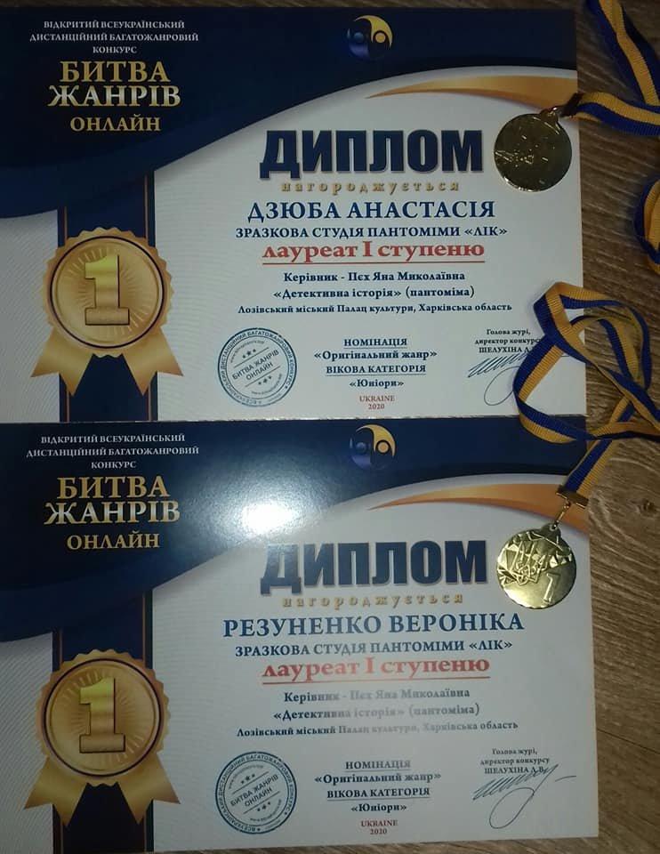 Онлайн-победы: лозовские творческие коллективы получили награды всеукраинского конкурса, фото-6