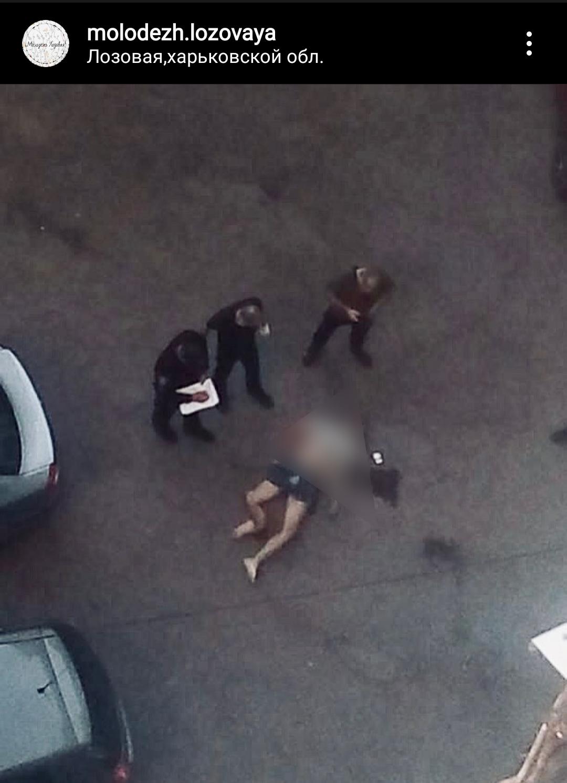 В Лозовой с многоэтажки упал человек (ОБНОВЛЕНО), фото-1