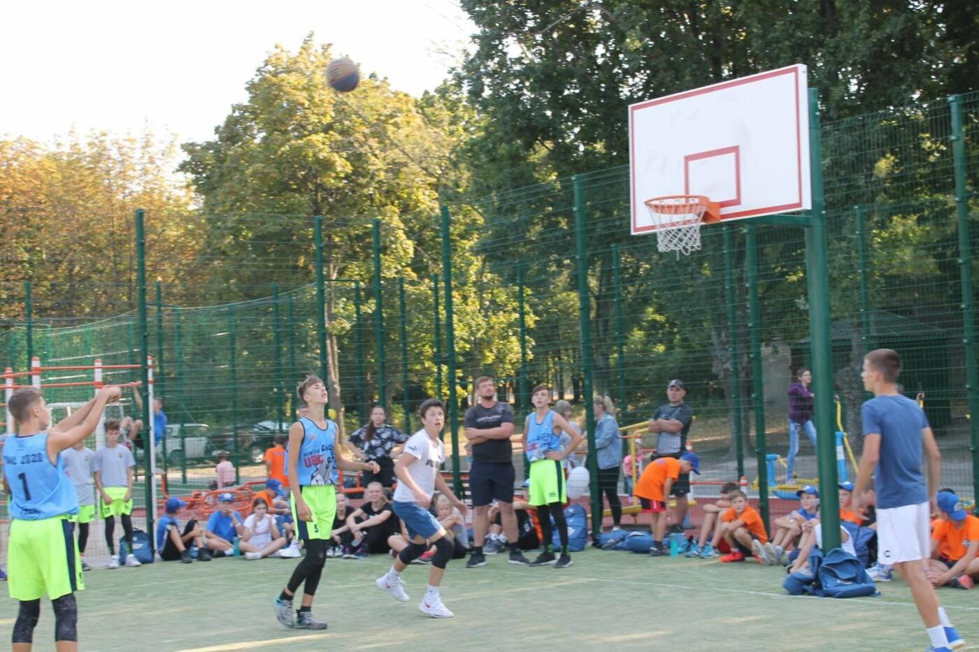 Турнир в День города: в Лозовой больше ста баскетболистов сыграли в стритбол, фото-1