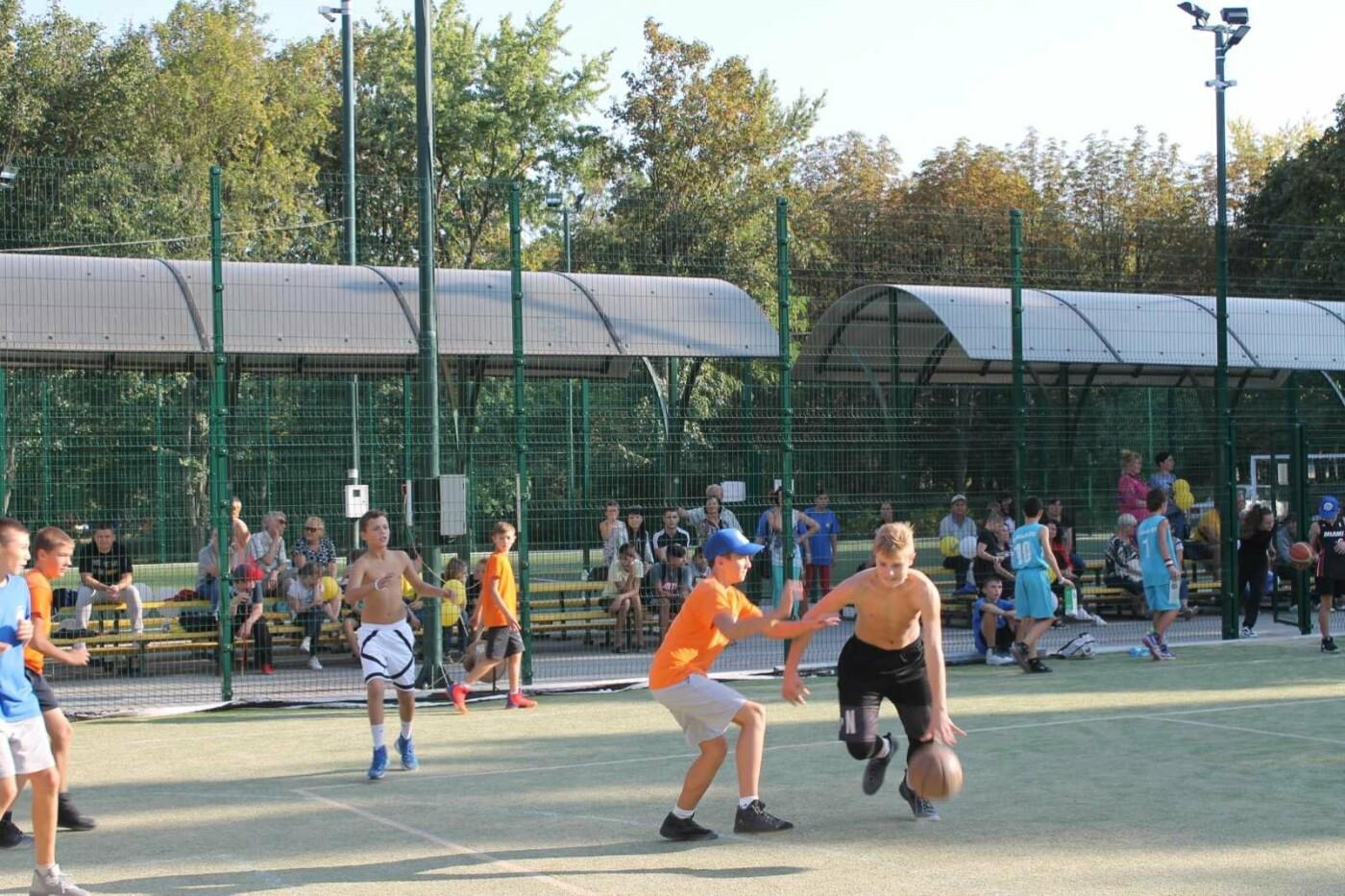 Турнир в День города: в Лозовой больше ста баскетболистов сыграли в стритбол, фото-7