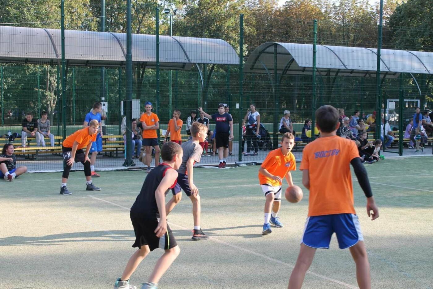 Турнир в День города: в Лозовой больше ста баскетболистов сыграли в стритбол, фото-3