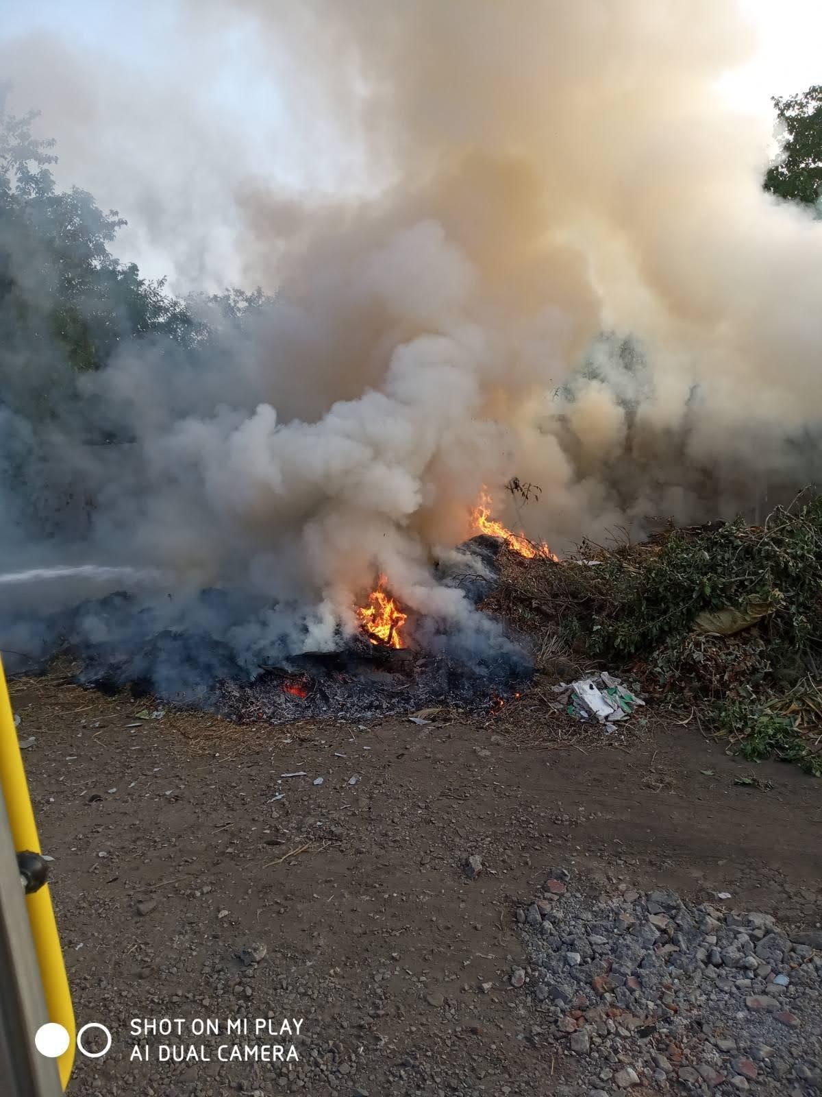 Горели трава и мусор: на Лозовщине за 2 суток  случилось 4 пожара, фото-2