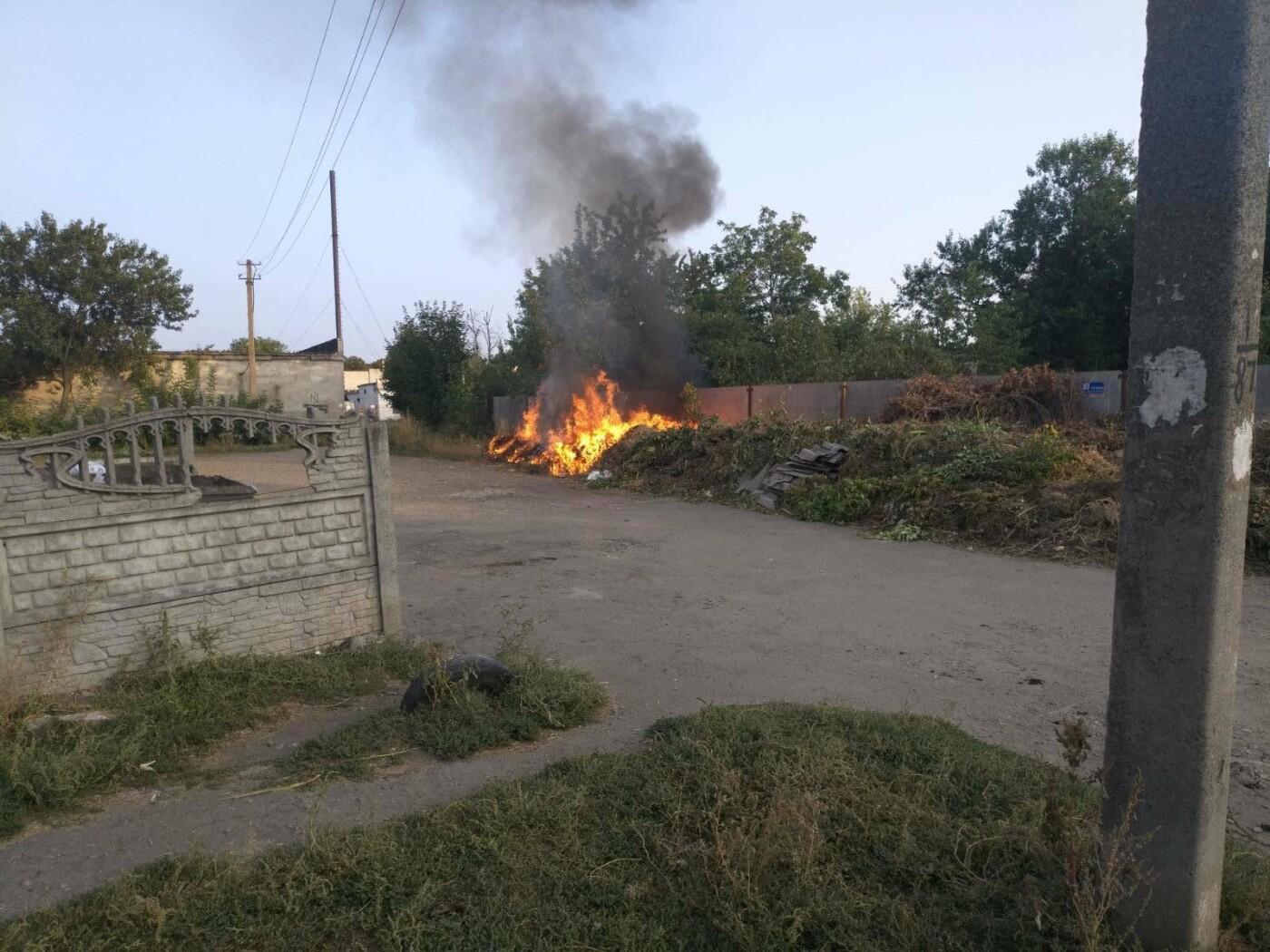 Горели трава и мусор: на Лозовщине за 2 суток  случилось 4 пожара, фото-3