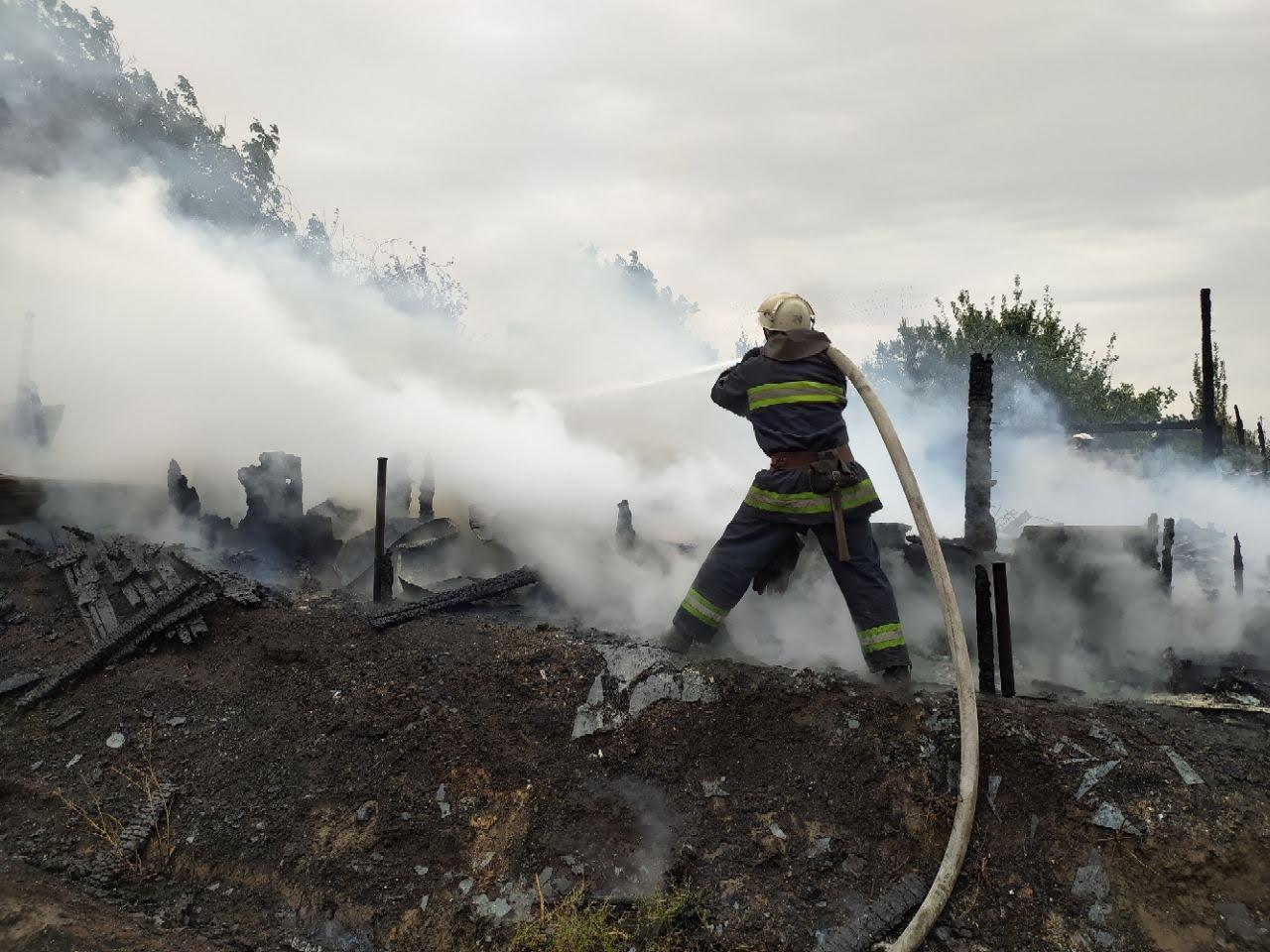Погибли домашние животные: на Лозовщине, в Катериновке, произошёл пожар (ФОТО), фото-3