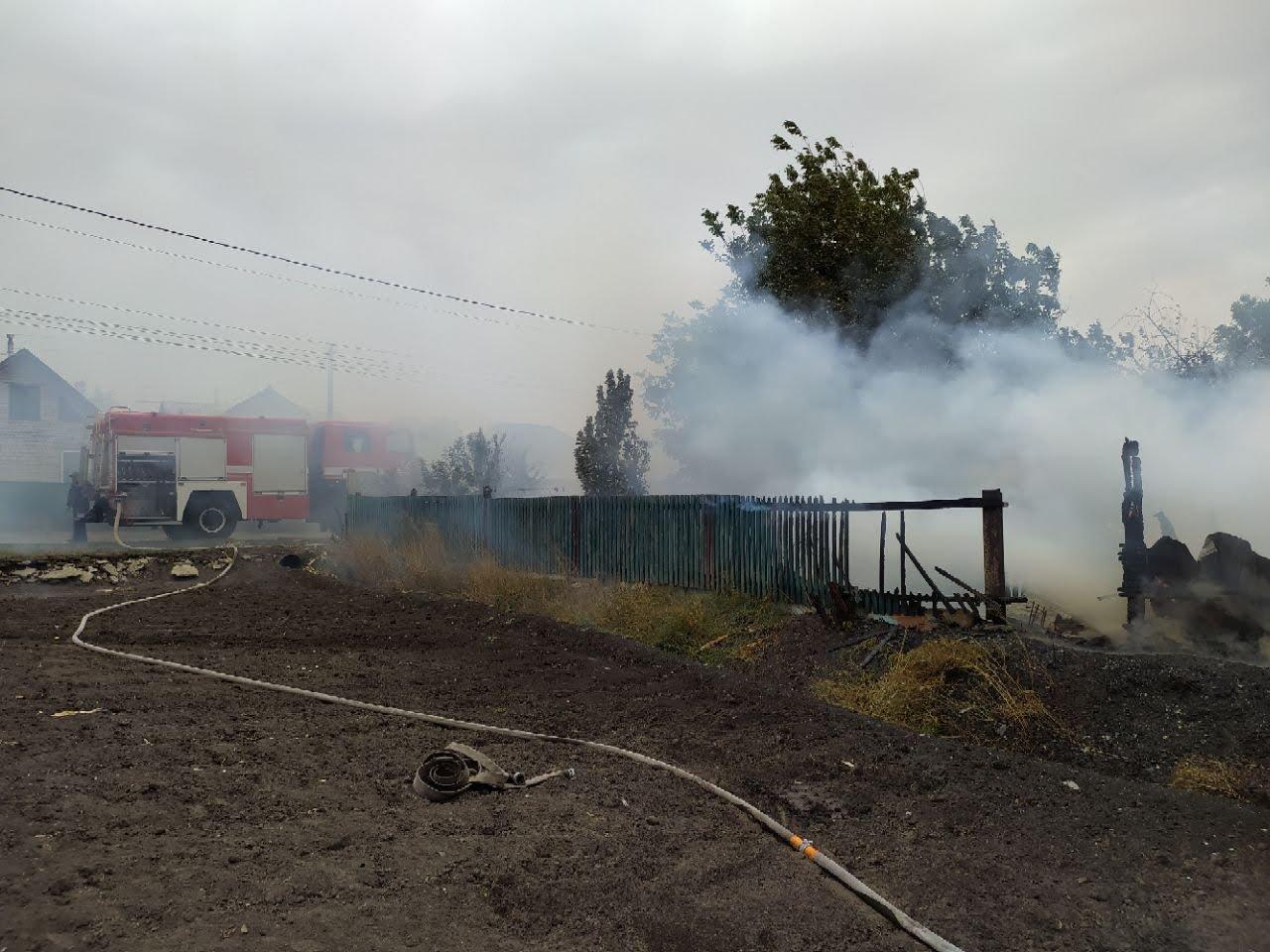 Погибли домашние животные: на Лозовщине, в Катериновке, произошёл пожар (ФОТО), фото-2