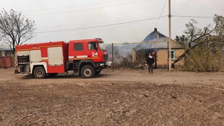 Как лозовские спасатели тушат пожары на Луганщине (ФОТО, ВИДЕО), фото-3