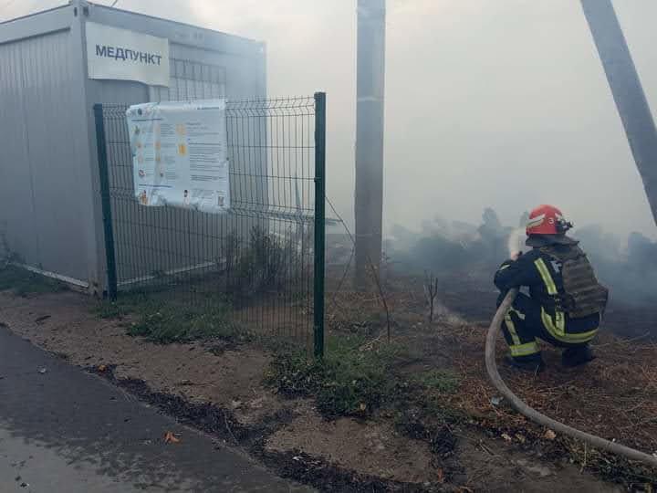 Как лозовские спасатели тушат пожары на Луганщине (ФОТО, ВИДЕО), фото-2