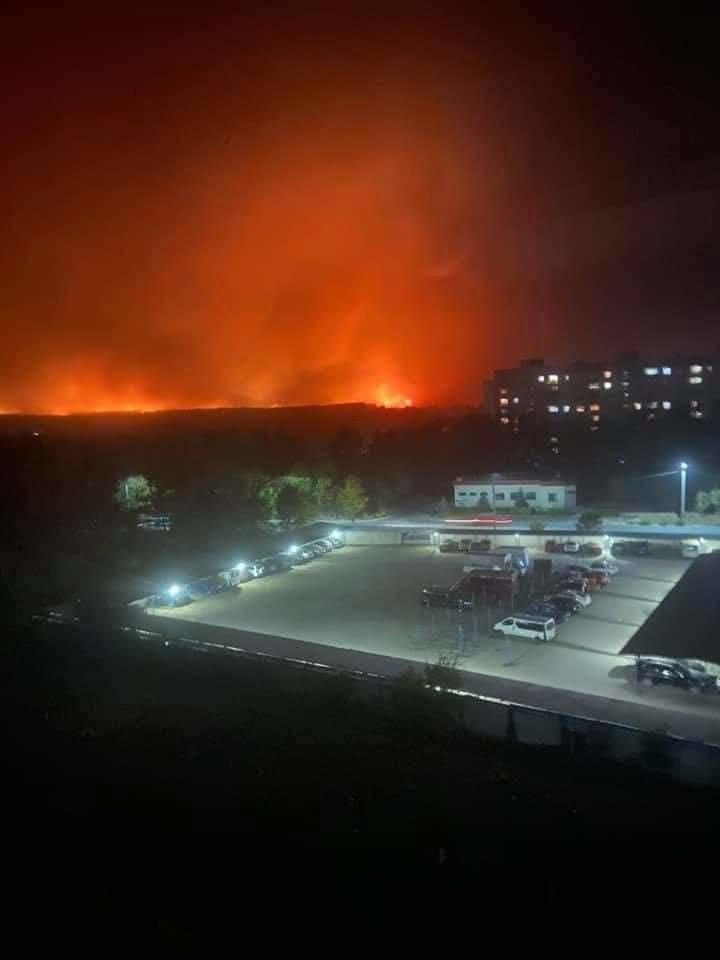 Как лозовские спасатели тушат пожары на Луганщине (ФОТО, ВИДЕО), фото-4