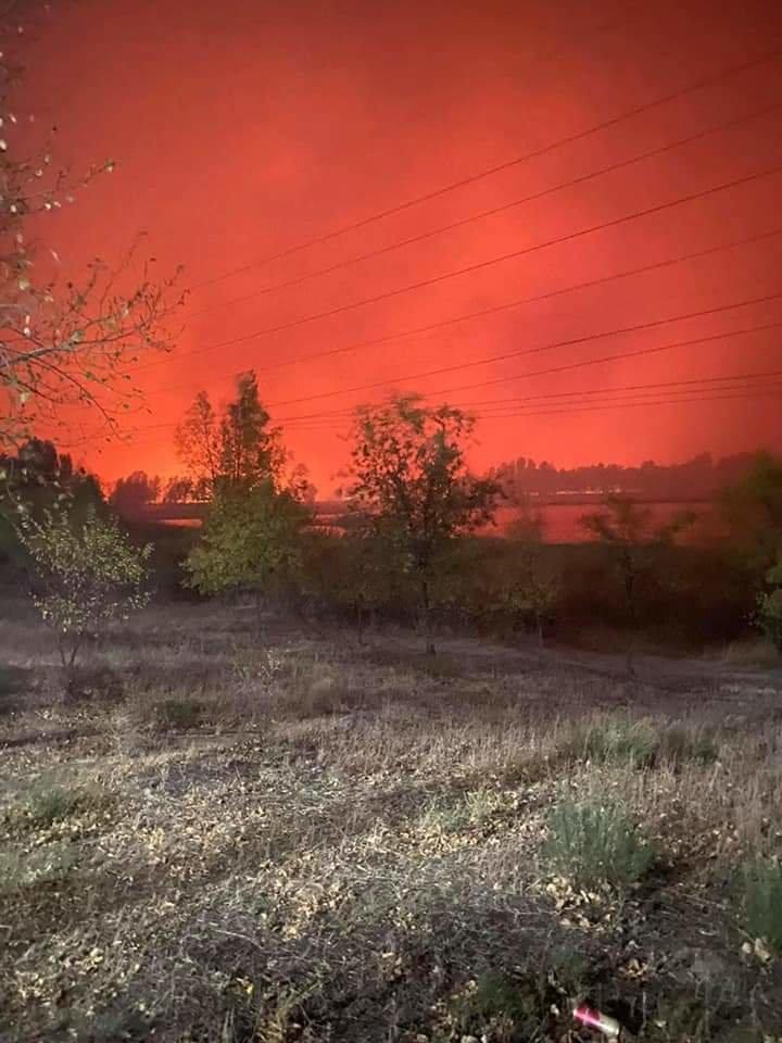 Как лозовские спасатели тушат пожары на Луганщине (ФОТО, ВИДЕО), фото-6
