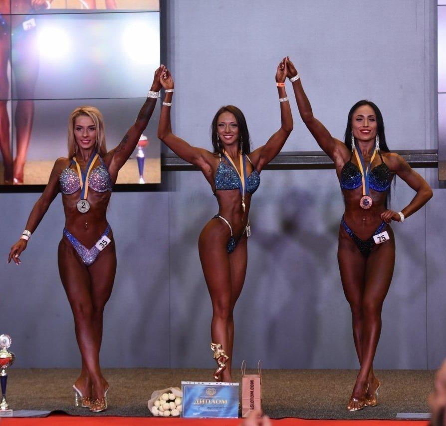 Лозовская спортсменка завоевала победу в чемпионате Украины по бодибилдингу, фото-2
