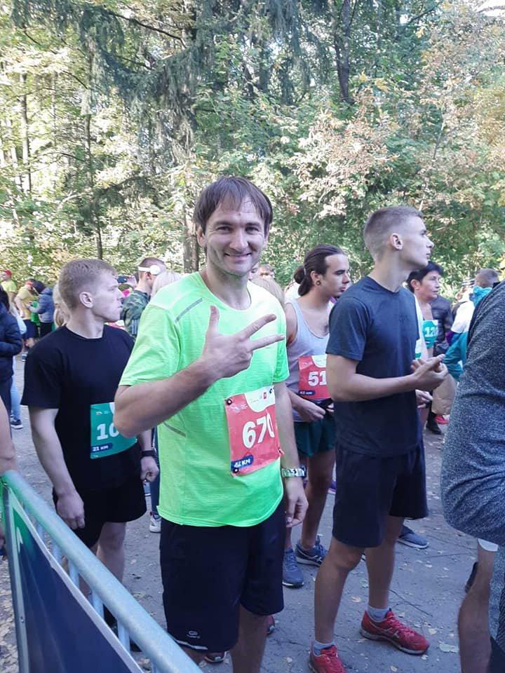 Сбросил вес и изменил тренировки: лозовской тренер по муэй-тай сумел пробежать марафон , фото-1