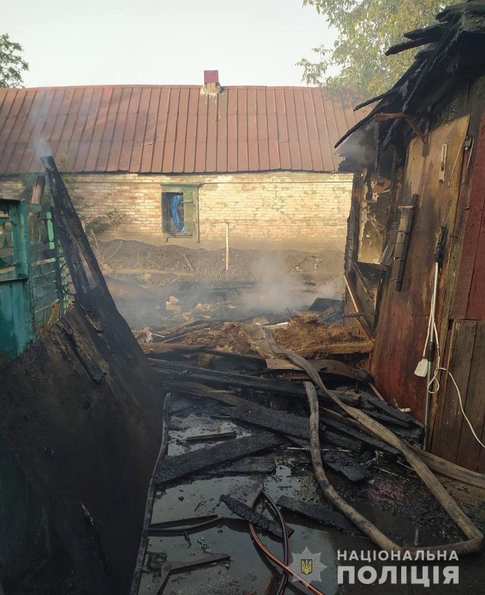 Поджог из-за мести: лозовчанку обвиняют в подпале дома и сарая , фото-3