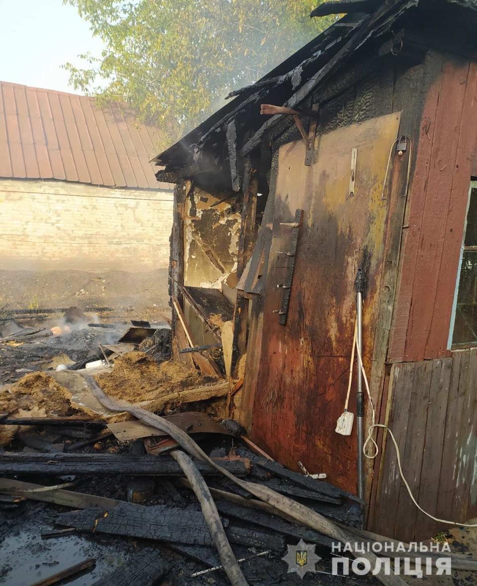 Поджог из-за мести: лозовчанку обвиняют в подпале дома и сарая , фото-1