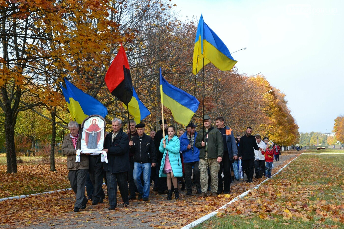 Без масок и карантина: как Лозовщина праздновала День защитника Украины год назад (ФОТО), фото-25