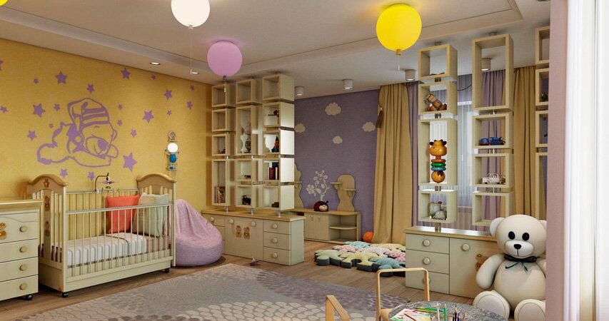 Правила оформления детской комнаты: как сделать помещение практичным и безопасным?, фото-1