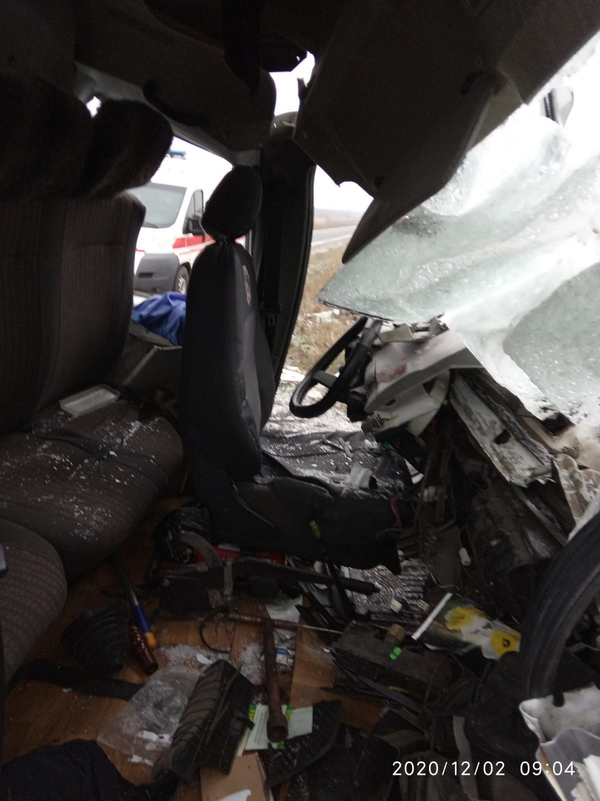 Газель въехала в Камаз: на Лозовщине ДТП с пострадавшим, фото-4
