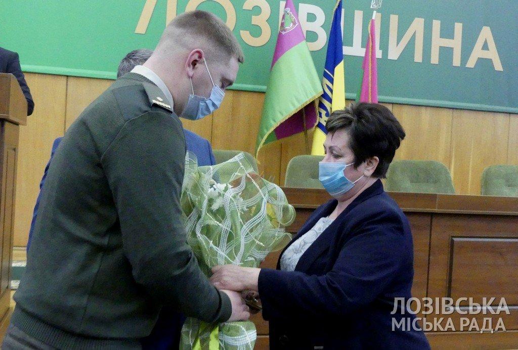 В Лозовой, ко Дню Вооруженных сил, наградили родителей воинов, которые погибли в АТО , фото-3
