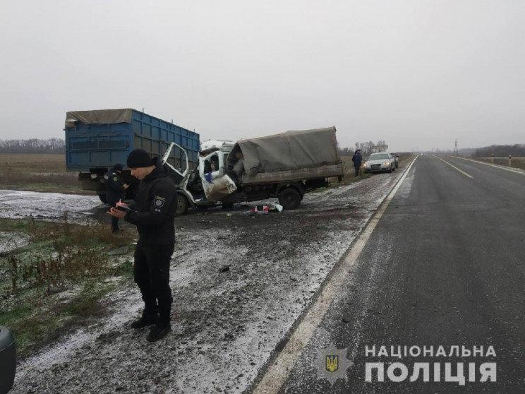 Стали известны подробности аварии с «Газелью» и Камазом на Лозовщине (ФОТО), фото-1